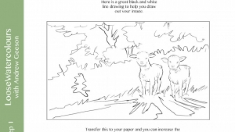 Two Little Lambs Step-By-Step & Kit List