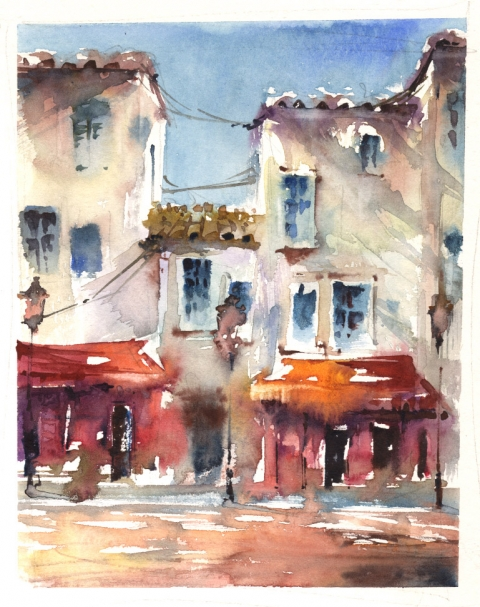 …a slightly bigger French street scene…