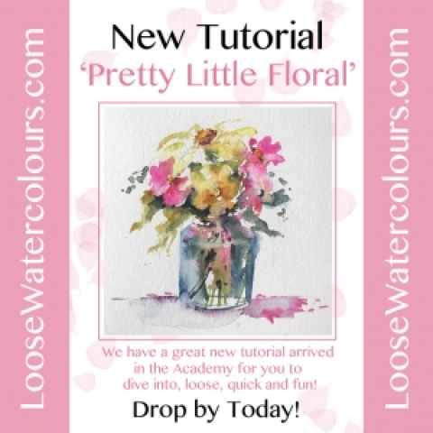 New Tutorial 'Pretty Little Floral' arrived today!