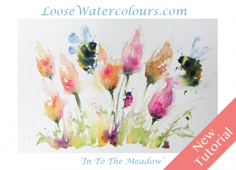 New Loose Tutorial' In To The Meadow' …one to try!