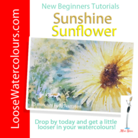 New Tutorial 'Sunshine Sunflower' has arrived!